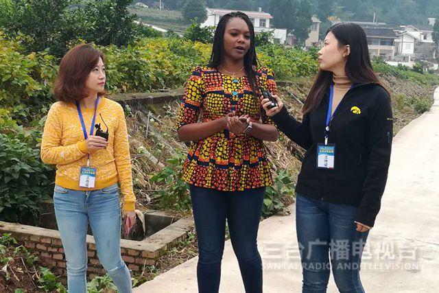 非洲专家逛新村探索中国脱贫经验