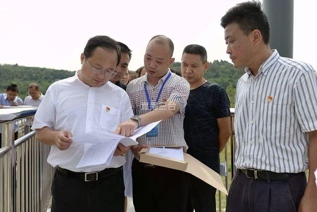 马辉调研防汛减灾和环保工作