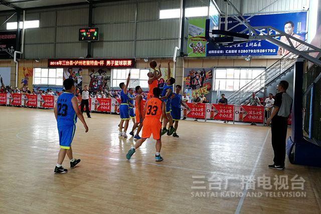 县总工会举行2018年男子篮球联