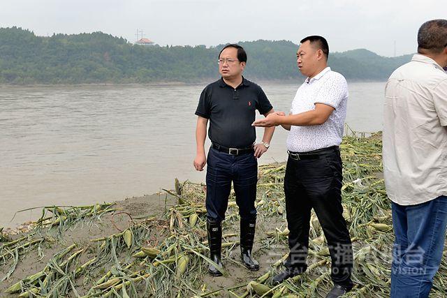 马辉到永明镇调研洪涝灾害受损