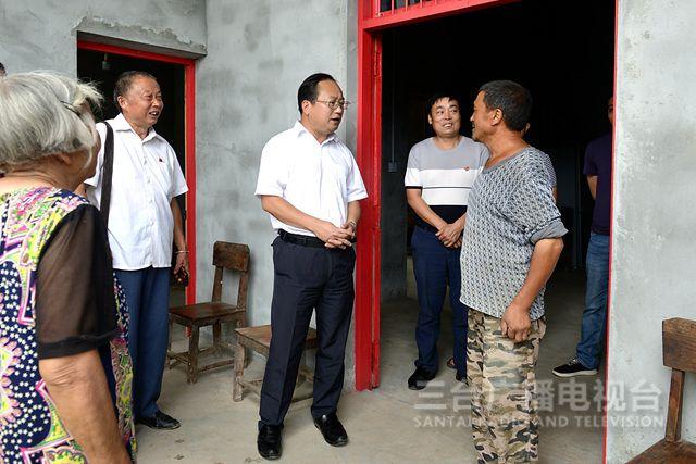 马辉到联系村宣讲省委、市委、
