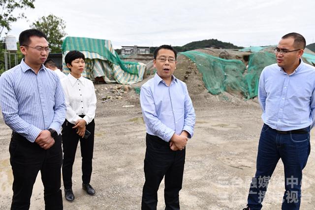 吴明禹督导生态环境保护问题整改